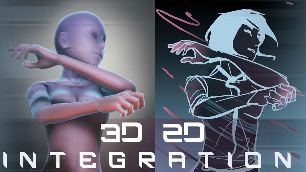 2D3D Animation